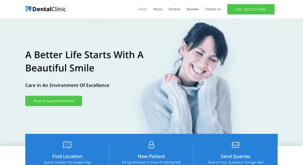 Dentist WordPress Theme - Astra Theme